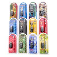 Wholesale Cookies Runtz Backwoods R and M Cartoon Vape Pen Twist Battery for Wax Oil Th205 Cartridge