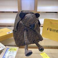 backpack 2020 new bear Backpack Travel Bag f full letter for boys and girls