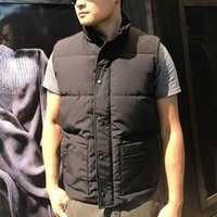 Mode Winter Daunenweste Stehkragen Casual Stil Klassische Männer Designer Outdoor Sleeveless Oberbekleidung Winddicht Mantel Hohe Qualität