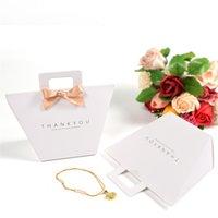 Vielen Dank, Hochzeit Favoriten Papier Geschenkbox Paket Geburtstagsfeier Favor Bags Hand Candy Bag CCF7656