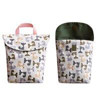 Подгузники ткани Водонепроницаемый мокрый подгузник Рюкзак Baby Bag Babynity Reasable Крышка и сухой Мама Уход 1489 B3