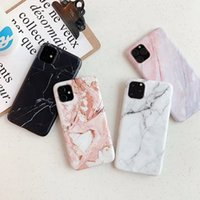 Luxury Custom IMD Marble Phone Cases For IPhone XS XR 11 12 13 Pro MAX Fashion 360 Full Protective Matte TPU Case