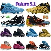 2021 Forma Future 5.1 Netfit FG Mens Sapatos de Futebol Futebol Cleaves Azul Amarelo Purplish Vermelho Triplo Laranja Nyc Branco Prata Snack Roxo Sapatilhas Homens Treinadores de Esportes