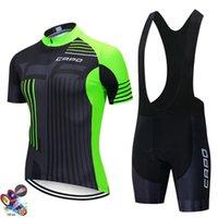 Bisiklet Seti Erkek Yaz Giyim Capo MTB Bisiklet Giysileri Nefes Yol Bisiklet Spor Giyim Jersey Yarış Setleri
