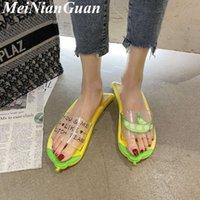 Hafif Kadın Terlik Ev için Rahat Yürüyüş Kadın Flip Floplar Büyük Boy Muz Komik Bayanlar Ayakkabı ve Sandalet CA