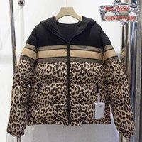 망 2021 아래로 코트 겨울 고전 재킷 패션 레터 프린트 파카 야외 따뜻한 겉옷 유지 탑재 양쪽 양쪽 양쪽에 착용 할 수 있습니다