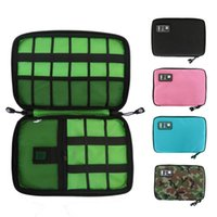 Storage Bags Gadget Cable Organizer Bag Travel Electronic Accessories Pouch Case USB Charger Power Bank Holder Digitals Kit