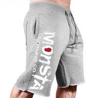 Men's Summer Loose Cotton Print Casual Shorts Fitness Workout Gym Clothing Jogging Sweatshorts Knee Length Plus Size Short Homme
