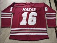 Rare Hockey Jersey Homens Juventude Mulheres Vintage Mass Cale Makar Tamanho S-5XL Personalizado Qualquer Nome ou Número