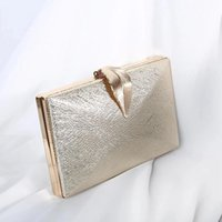 Sacs de Duffel Luxe Moon Mariage Femme Embrayage Sac d'embrayage Gold Sac à main pour femme Sac à main pour la mariée Métal Verrouillez l'épaule ZD1524