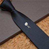 Gravata de alta qualidade 100% bordado de seda clássico laço marca marca casual laços casuais presente