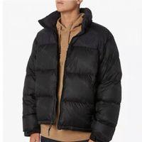 2021 Mens Abajo Fashion Stylist Abrigo Abrigo Impresión de la impresión Parka Chaqueta de invierno Hombres Mujeres Pluma Abrigo Abrigo Abajo Chaquetas Tamaño M-XXL