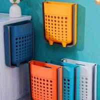 Plástico grande dobra grande banheiro nórdico lingerie meias pendurado saco de lavanderia roupa suja lavanderia armazenamento doméstico dg50lb