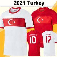 2021 تركيا المنتخب الوطني رجل كرة قدم الفانيلة سيليك ديميرال أوزان كاباك كالهانوجلو يازيكي المنزل بعيدا كرة القدم قميص قصير الأكمام