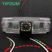 Auto Vista posteriore Telecamere Sensori di parcheggio YiFoum HD Dynamic TRAjectory Trasiectory Camera di backup per Tribeca Forester SUV Legacy Outback Wago