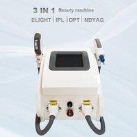 Profession Laser Hair Removal Beauty Equipment IPL OPT SHR Elight Skin Rejuvenation Yag Lazer Device