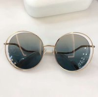 Wendy CE153S Gold / Violetter schattierte Sonnenbrille 153 Frauen Mode Runde Sonnenbrille Schattierungen Gläser Neu mit Kasten