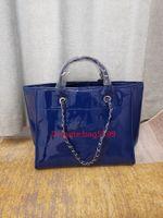 Modedesigner Frauen Tasche Crossbody Messenger Kette Umhängetaschen Gute Qualität Leinwand Geldbörsen Damen High Capacity Patentleder Handtasche