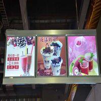 Boards de menu LED, affichage des menus illuminés, Signs System pour restaurants à emporter (5 graphiques / colonne)