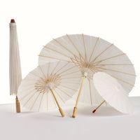 40 60 cm de diâmetro China Guarda-chuva de papel de Japão tradicional quadro de bambu quadro de madeira parasols DH2040