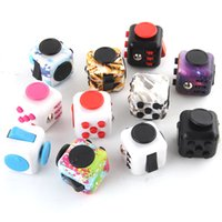 Bambini adulti Digital Digital Desktop Stress Solliest Giocattolo infinito Rubik's Cube Dice Novel Fidget Giocattoli