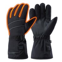 Cycling Gloves 8.4V USB Rechargeable Battery Warm Self Heating Ski Winter Snowmobile Riding Electric Heated Hand Warmer Mittens