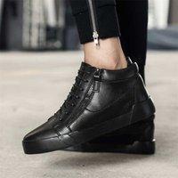 Adam Rahat Sneakers Adam Asansör Ayakkabı Görünmez 6 cm Yükseklik Artış Deri Erkek Ayakkabı Eğlence Yeni İnek Deri Günlük Ayakkabı 201217
