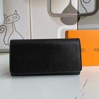 Classic Designer Wallet Bag Letter Mens Card Holder Leather Designers Cardholder Bags Long Money Clip Bolsa Handbags Women Wallets with Box Coin Purse Portefeuille