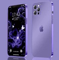 iPhone12 12promax 12 mini 13 13pro 13promax 13 mini matte electroplating phone case Full Covered Protective Case iPhone 11 11pro XS XR case cover (iphone 12)