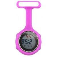 3Brooch Pin tasche Guarda il quadrante digitale Digital Dial Fob Nurse Brooch Pin Hanging Electric Watch Fob Orologi Silicone Reloj W06