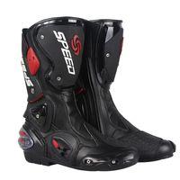 Motocicleta Long Mountain Racing Road Sapatos Antiskid Abrangente Proteção Cross Country Light Botas Profissionais