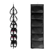 Storage Bags Shoes Hanging Bag Dustproof Organizer Rotatable For Closet Household Bedroom In Stock