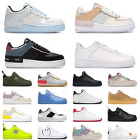 off white 2021 mode plate-forme basse WMNS ombre pour hommes chaussures de course pour femmes triple blanc pur platine bleu utilitaire noir baskets de sport baskets skateboard