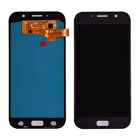 Samsung Galaxy A7 A720 A72017 용 LCD 디스플레이 OLED 스크린 패널 프레임없이 디지타이저 어셈블리 교체