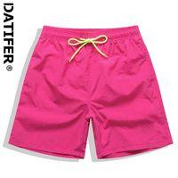 Datifer Mens Board Shorts Surf Swimwear Beach Short Man Swim Shorts Summer Male Athletic Running Gym Shorts Man Size 4XL K78