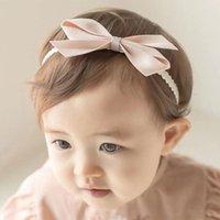 Hair Accessories Baby Girl Headband For Children Headdress Sweet Princess Ribbons Bows Kids Headwear Summer