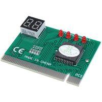 Connecteurs audio Connecteurs PC PCI Carte de diagnostic PCI Testeur d'analyseur Post Checker Worldwide
