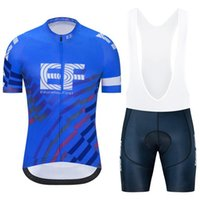 EF Eğitim İlk Takım Bisiklet Jersey Takım Yaz MTB Bisiklet Kıyafetler erkek Hızlı Kuru Yarış Bisiklet Spor Üniforma H041725