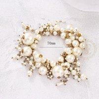 Bracelet à bijoux à la mode Connecte de la main Perle en plastique - 70mm (BE12) perlé, Strands