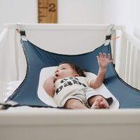 Младенческая детская гамак рожденный ребенок спальный кровать безопасная съемная кроватка детская кроватка качалка эластичная регулируемая чистая портативная мебель для лагеря