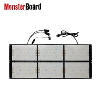 Grow Lights Pre-assemble 600w Led Light Board V4 Original Samsung Lm301H With UV IR Switch From Geeklight