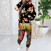 Yoga Outfit For Women Loose Sweatsuits Sets 2 Piece Outfits Soft Pajamas Set Long Sleeve Workout Tracksuits Lounge