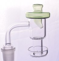 Smoking Terp Slurper Quartz Banger 10mm 14mm 18mm female male Nail With UFO Glass Carb Cap For Water Bong