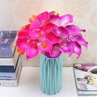 5pcs Beautiful Calla Lily Artificial Flowers Home Floral Dec...