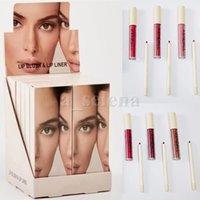 LIPS Maquillage Lip Liquide Liquide Liquide LIFLINER 6 COUCHES KITS DE LIPGLOSS DE LONGUEUR DURAILLE