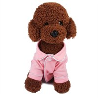 Small Dog Apparel Coat Pet Puppy Pajamas Black Pink Girls Poodle Bichon Teddy Clothes Christmas Cotton Boy Bulldog Softfeeling Shirts Winter ZWL436