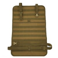 Sachen Säcke Taktische Molle Auto Sitzbezug Multifunktion Hängende Strap Bag Outdoor Sports Jagdaufnahme Zubehör Beutel 55 * 37cm