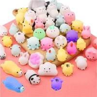 Hot Mochi Squishy Toys with Cute Bag Stress Toy Reward Toys for Kids Kawaii Moj Adult Venting Child Gift Q0423