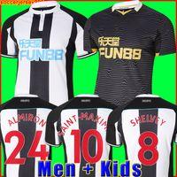 Camiseta de fútbol 21 22 Local visitante SHELVEY ALMIRON 2021 2022 Camiseta de fútbol JOELINTON RITCHIE GAYLE MAXIMIN Conjunto de camisetas para hombre + niños