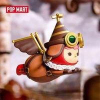 Pop Mart Pucky Flying Bebês Series Art Figures Figura de Ação Binária Figura Presente de Aniversário Brinquedo 210830